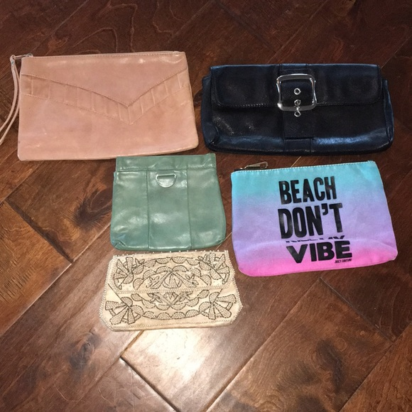 Vintage Handbags - CLUTCH LOT (5)